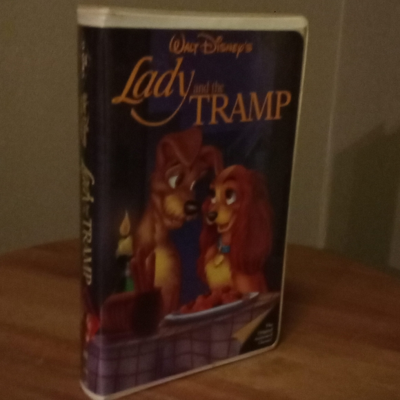 Disney Other Lady And The Tramp Vhs Tape In Great Condition Poshmark